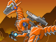 Toy War Robot Raptors Game