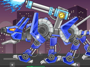 Toy War Angry Robot Dog Game