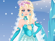 Ice Princess Wedding Dress Game