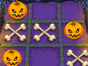 Noughts and Crosses Halloween Game